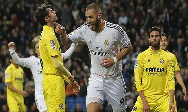 Bóng đá - Real Madrid vs Villarreal 03h00, ngày 02/03