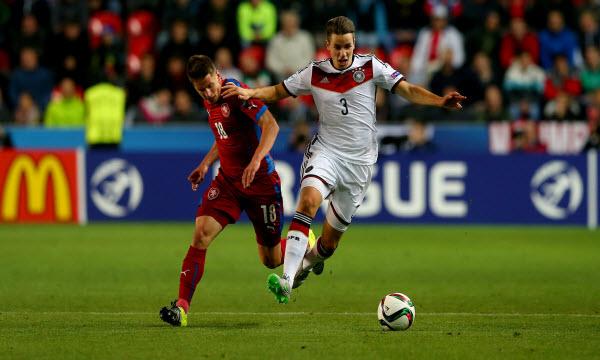 Bóng đá - Séc vs Đức 01h45, ngày 02/09