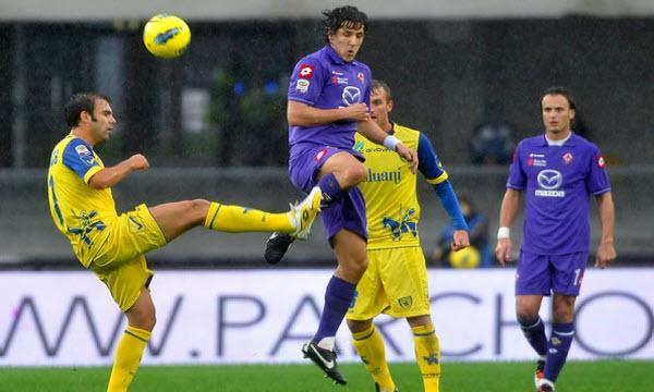 Bóng đá - Chievo vs Fiorentina 20h00, ngày 01/10