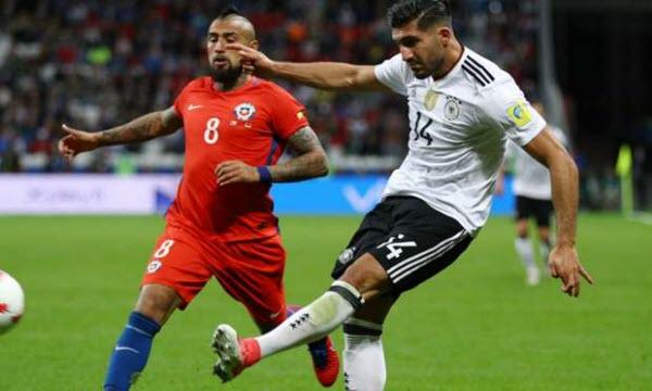 Bóng đá - Chile vs Đức 01h00, ngày 03/07
