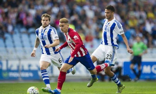 Bóng đá - Atletico Madrid vs Real Sociedad 22h15, ngày 02/12