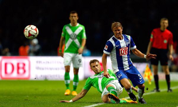 Bóng đá - Wolfsburg vs Hertha Berlin 21h30, ngày 03/12