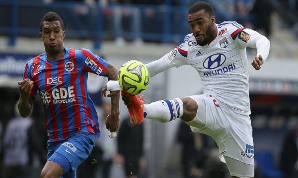 Bóng đá - Caen vs Lyon 22h59, ngày 03/12