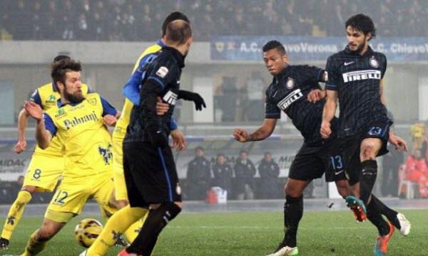 Bóng đá - Inter Milan vs Chievo 21h00, ngày 03/12