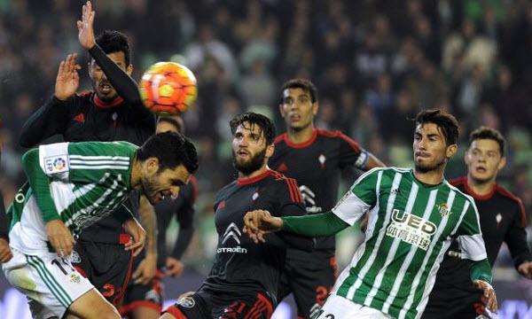 Bóng đá - Real Betis vs Celta Vigo 18h00, ngày 04/12
