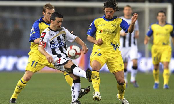 Bóng đá - Chievo vs Udinese 21h00, ngày 05/02