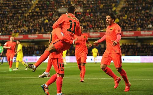 Bóng đá - Villarreal 1-3 Barca: Thẳng tiến tới ngôi vương