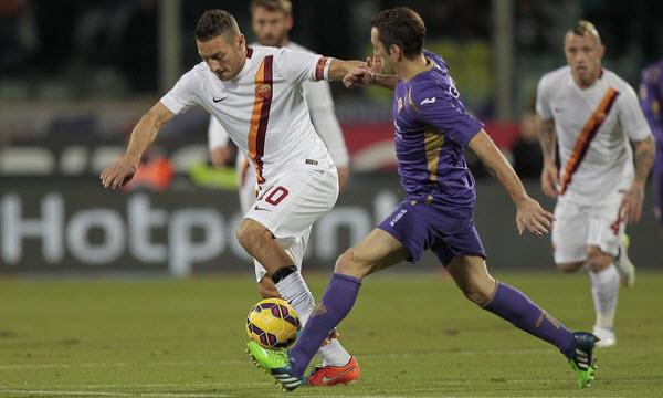 Bóng đá - Fiorentina vs AS Roma 21h00, ngày 05/11