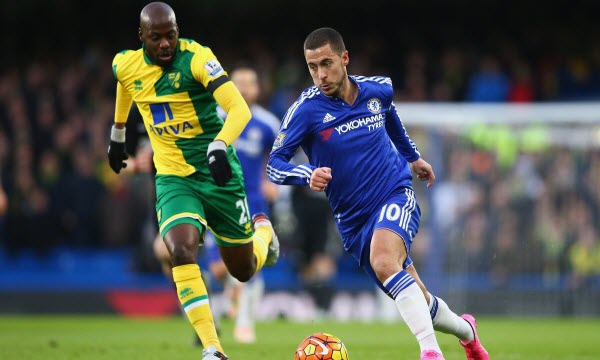Bóng đá - Norwich City vs Chelsea 00h30, ngày 07/01