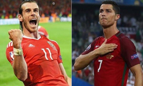 Bóng đá - Bồ Đào Nha vs Xứ Wales 02h00, ngày 07/07