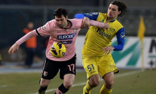 Bóng đá - Chievo vs Palermo 20h00, ngày 07/05