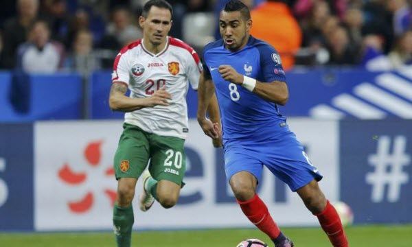 Bóng đá - Bulgaria vs Pháp 01h45, ngày 08/10