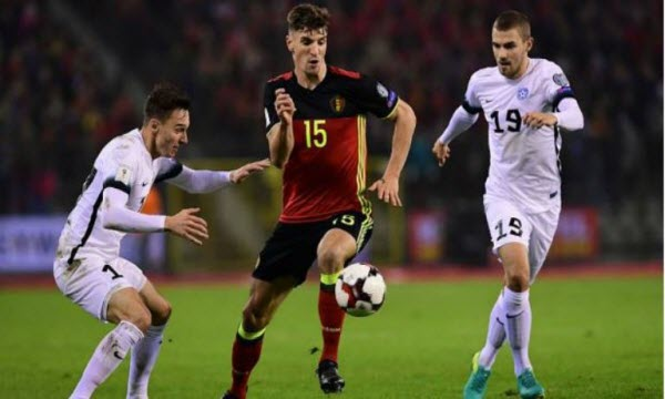Bóng đá - Estonia vs Bỉ 01h45, ngày 10/06