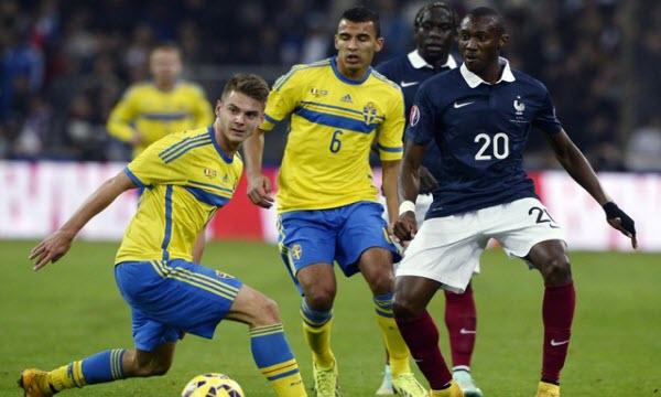 Bóng đá - Thụy Điển vs Pháp 01h45, ngày 10/06