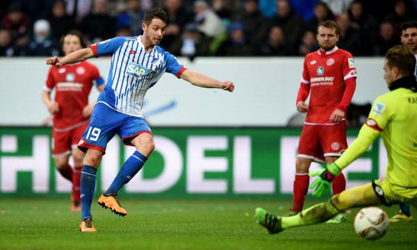 Bóng đá - Hoffenheim vs Mainz 05 21h30, ngày 10/02