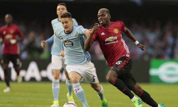 Bóng đá - Manchester United vs Celta Vigo 02h05, ngày 12/05