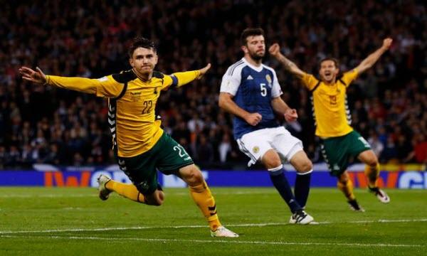 Bóng đá - Lithuania vs Slovakia 01h45, ngày 11/06