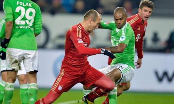 Bóng đá - Bayern Munich vs Wolfsburg 21h30, ngày 10/12