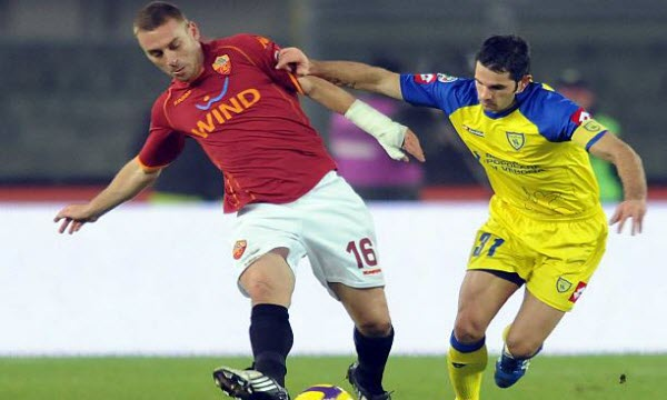 Bóng đá - Chievo vs AS Roma 18h30, ngày 10/12