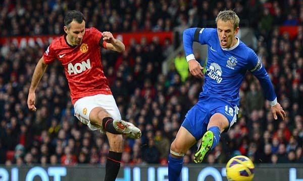 Man United 2-0 Everton (Highlights vòng 26, giải Ngoại Hạng Anh 2012-13)