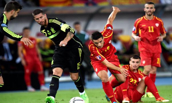 Bóng đá - Macedonia vs Tây Ban Nha 01h45, ngày 12/06