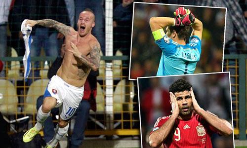 Bóng đá - ĐT TBN thua sốc: Bàn tay Casillas, đôi chân Costa