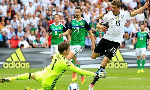 Bóng đá - Đức vs Bắc Ireland 01h45, ngày 12/10