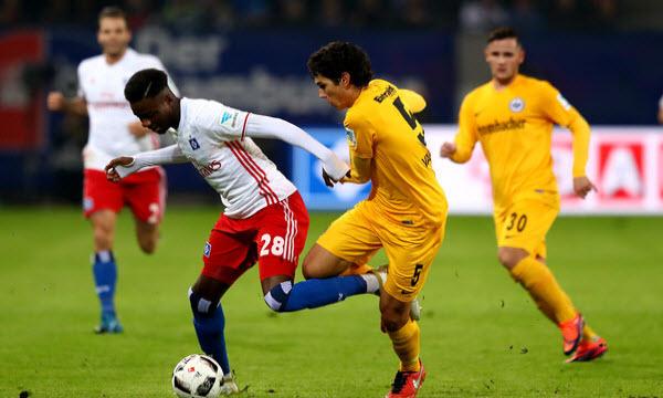 Bóng đá - Hamburger vs Eintr. Frankfurt 02h30, ngày 13/12