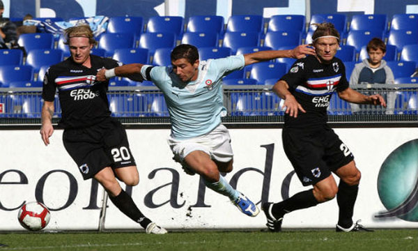 Bng , bng , clip bng  Lazio 2-0 Sampdoria (Highlights vng 37, gii VQG Italia 2012-13)