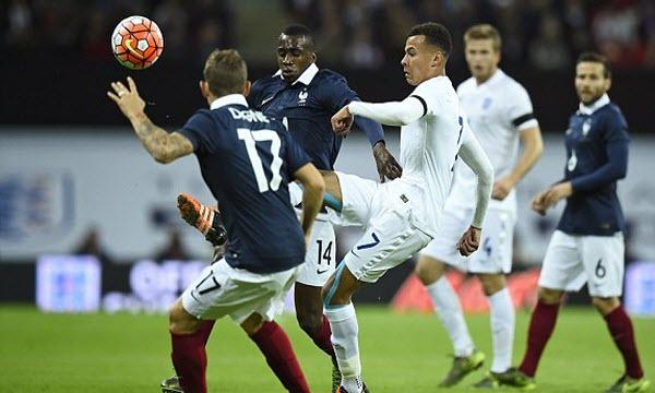 Bóng đá - Pháp vs Anh 02h00, ngày 14/06