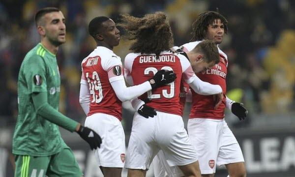 Arsenal vs Qarabag 03h00 ngày 14/12