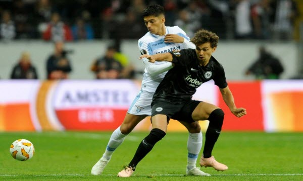 Lazio vs Eintr. Frankfurt 00h55 ngày 14/12
