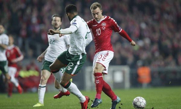 Bóng đá - CH Ireland vs Đan Mạch 02h45, ngày 15/11