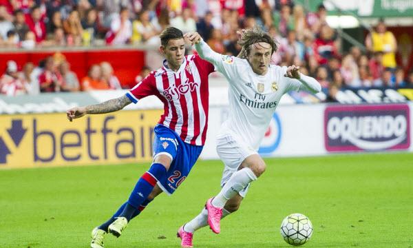 Bóng đá - Sporting de Gijon vs Real Madrid 21h15, ngày 15/04