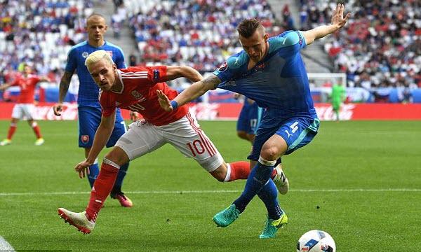 Bóng đá - Nga vs Slovakia 20h00, ngày 15/06