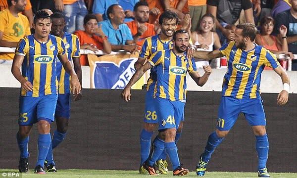 Bóng đá - APOEL Nicosia vs Slavia Praha 01h45, ngày 16/08