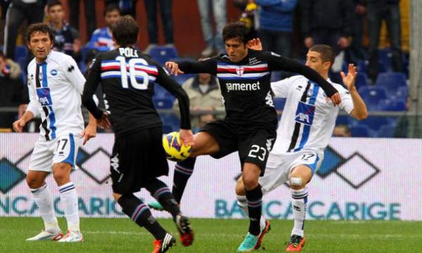Bóng đá - Sampdoria vs Atalanta 20h00, ngày 15/10