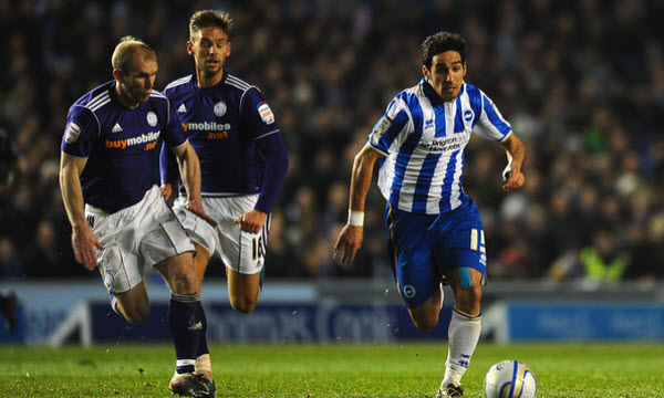 Brighton & Hove Albion vs Derby County 19h30 ngày 16/02