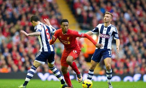 Bóng đá - West Bromwich vs Liverpool 19h30, ngày 16/04