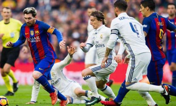 Bóng đá - Real Madrid vs Barcelona 04h00, ngày 17/08