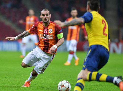 Bóng đá - Sneijder đòi sang Anh, MU và Southampton vào cuộc