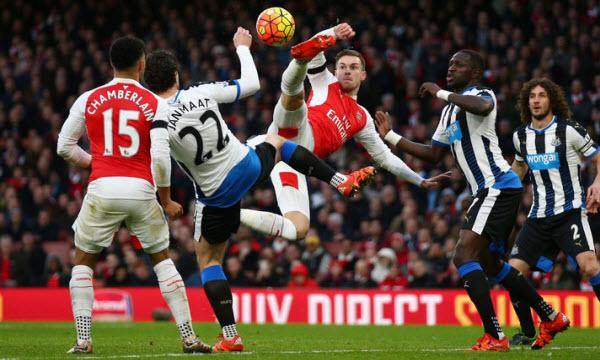 Bóng đá - Arsenal vs Newcastle United 22h00, ngày 16/12