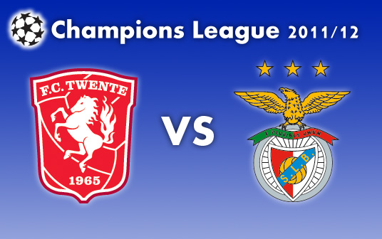 Twente 2-2 Benfica (Chamspion League - Play off)