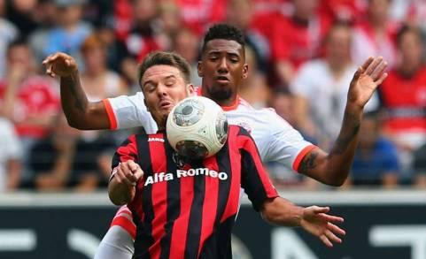 Bóng đá - Eint. Frankfurt 0-1 Bayern Munich: Hùm xám vất vả hạ Đại bàng