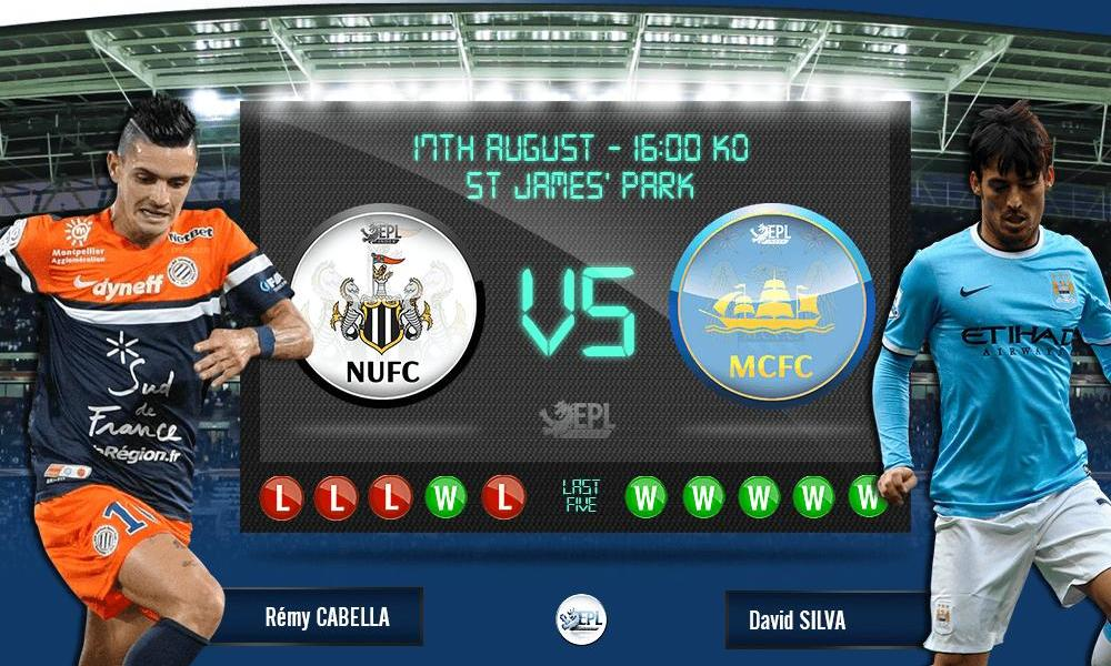 Newcastle United vs Manchester City: 22h00, ngày 17/08
