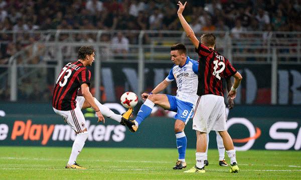 Bóng đá - AC Milan vs FK Shkendija 79 01h45, ngày 18/08