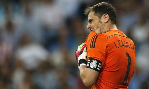 Bóng đá - Sức ép dữ dội, Casillas
