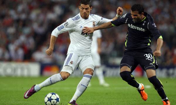 Real Madrid vs Tottenham Hotspur 01h45, ngày 18/10