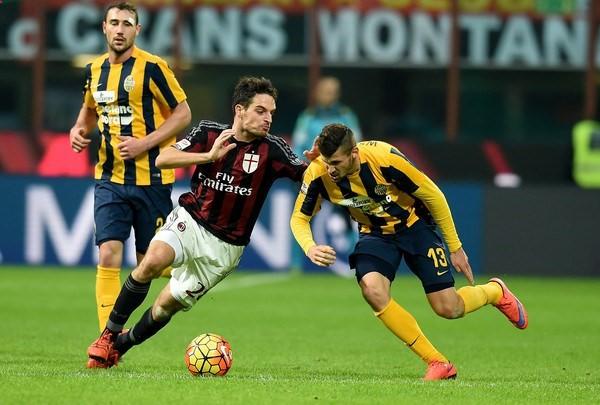 Bóng đá - Hellas Verona vs AC Milan 18h30, ngày 17/12