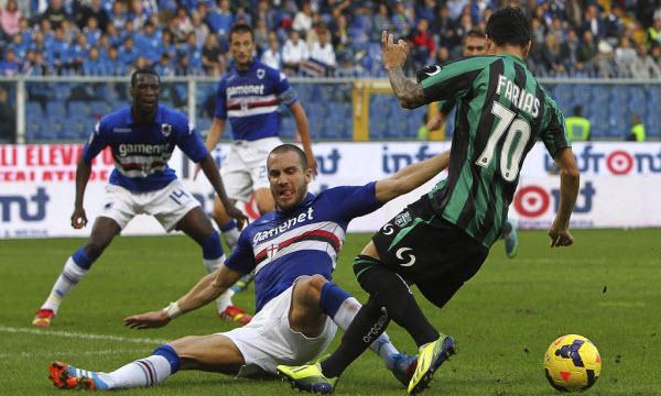 Bóng đá - Sampdoria vs US Sassuolo Calcio 21h00, ngày 17/12